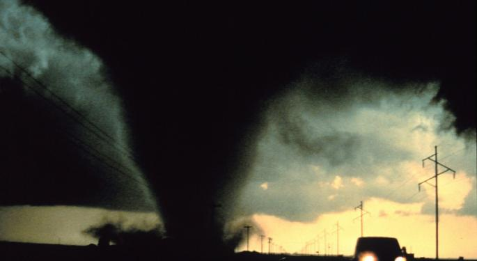We're Not In Kansas Anymore: Tornado Alley Shifting
