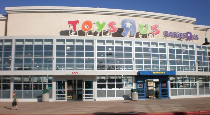 Toys R Us Blamed For Toy Stocks' Tepid Q3 Performances