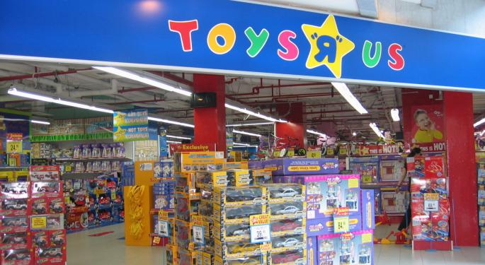 Toy Stocks Fall On News Of Potential Toys R Us Bankruptcy