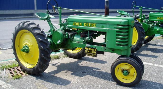 Time For Profit Taking In Deere Shares?