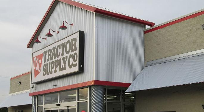 Wells Fargo: Meeting With Tractor Supply Indicates Positive Full-Year Outlook