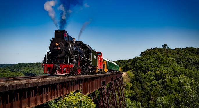 Canadian Rail Volumes Rise Again While U.S. Volumes Fall