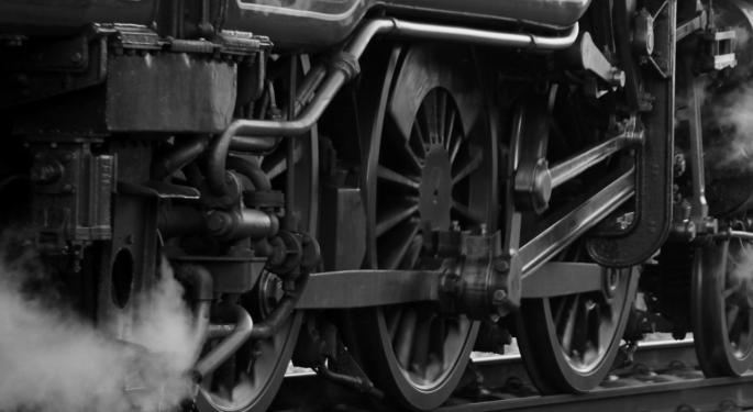 This Day In Market History: First Industrial Steam-Powered Locomotive