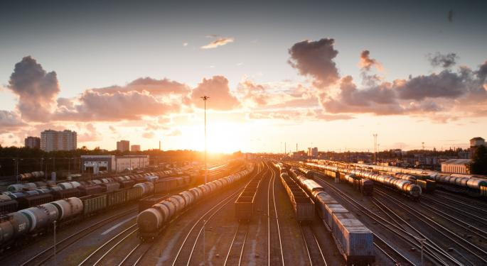 North American Rail Volumes Continue Downward Trend