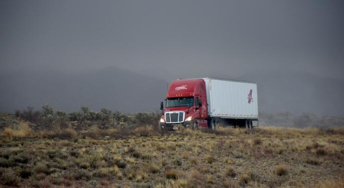 Trucking Freight Futures Market Summary Week Ending December 20, 2019