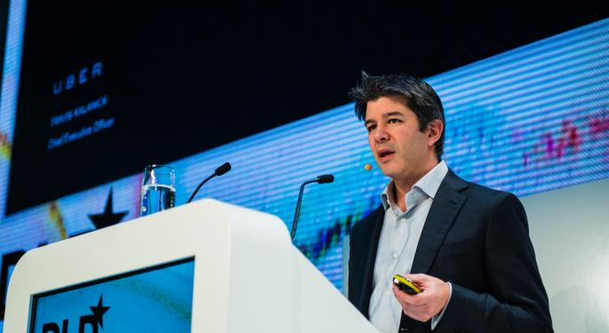 Travis Kalanick Sued For Fraud By Benchmark Capital, An Early Uber Investor