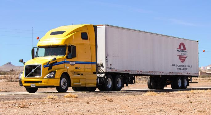 Truckload Carriers' First Quarter Results Don't Appear To Be In Jeopardy After The J.B. Hunt Report
