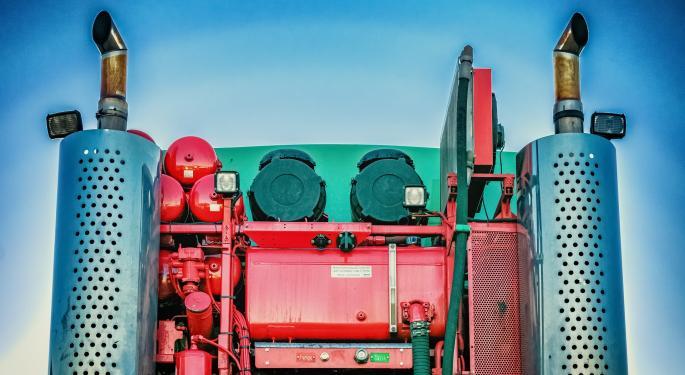 Trucking Freight Futures Market Activity 9-16-2019
