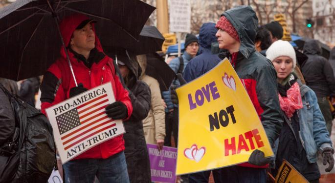 DOJ Seeks IP Addresses, Emails Of Visitors To Website Organizing Anti-Trump Demonstrations