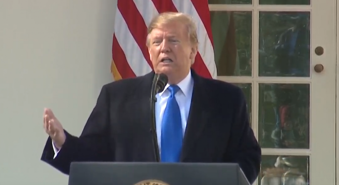 Trump Declares National Emergency Over Border Wall Funding; Lawsuits Coming