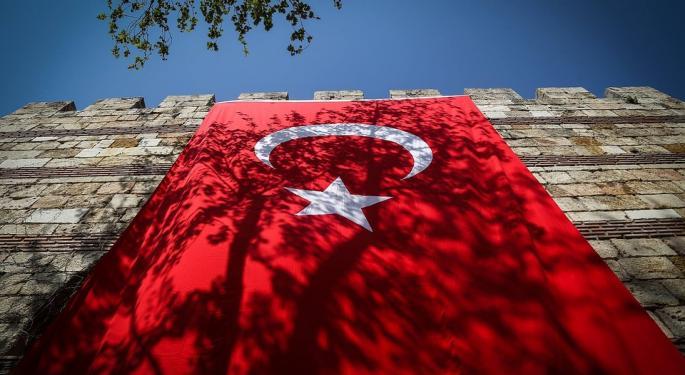 This ETF Loves Turkish Turmoil