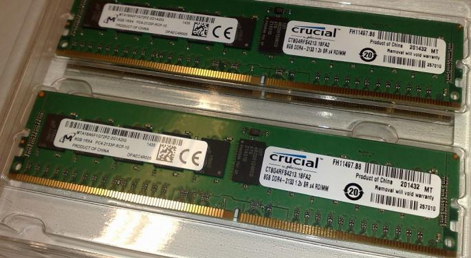 Strong PC Data For June Is Good For Micron Investors