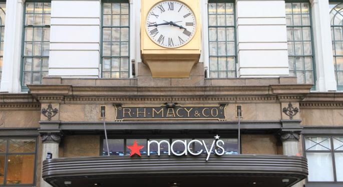 Cramer On Macy's: Consumers Are Spending Their Money Elsewhere