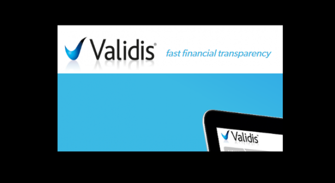 Validis: Cloud-Based Fintech Extracts, Standardizes Financial Data