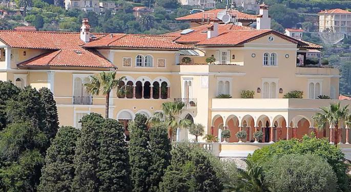 spdr s p 500 etf etf spy america 39 s 5 most expensive homes benzinga. Black Bedroom Furniture Sets. Home Design Ideas