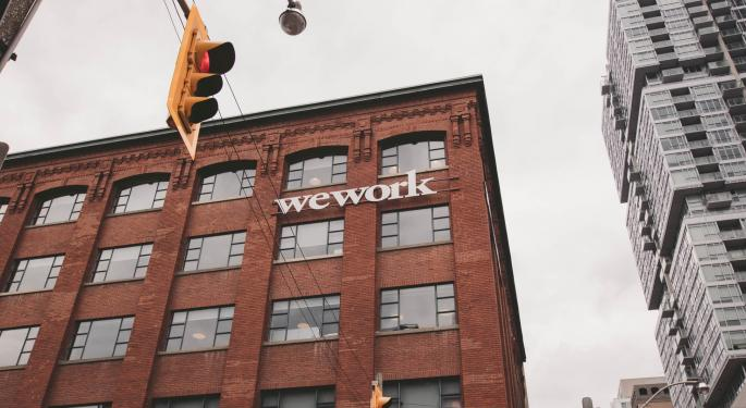 WeWork To Provide Office Space To Fellow Softbank-Backed Startup In New York