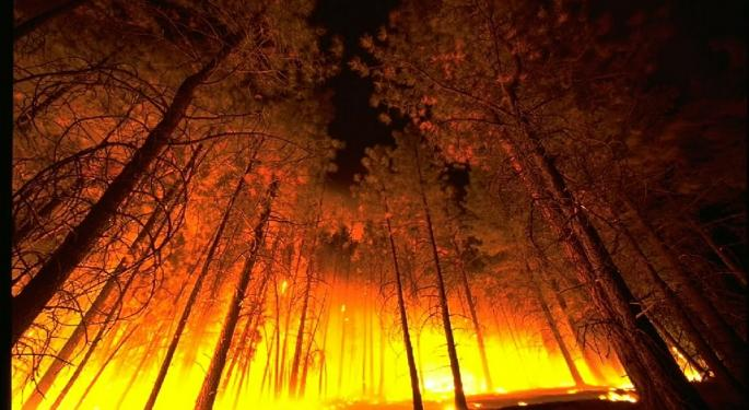 Analyst: Wildfires Raise Chance Of PG&E Shares Falling To Zero
