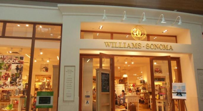 Analyst: Williams-Sonoma's Initiatives 'Aren't Paying Off Enough'