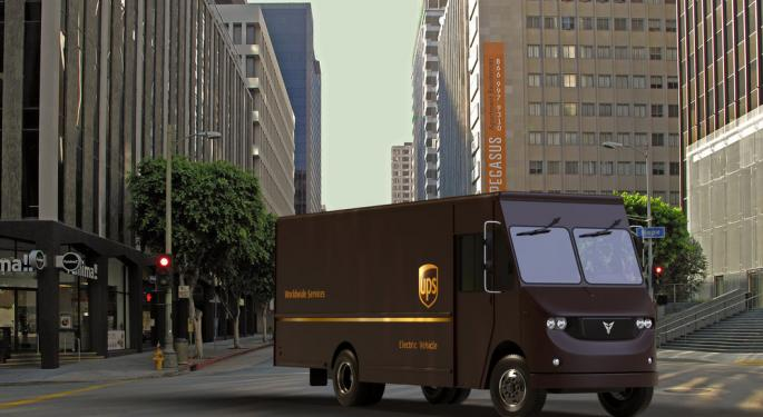 UPS and Thor collaborate to test electric delivery trucks