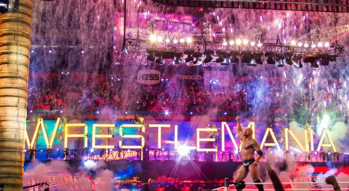 WrestleMania Exceeded Even PacCrest's Expectations: WWE Worth $20/Share