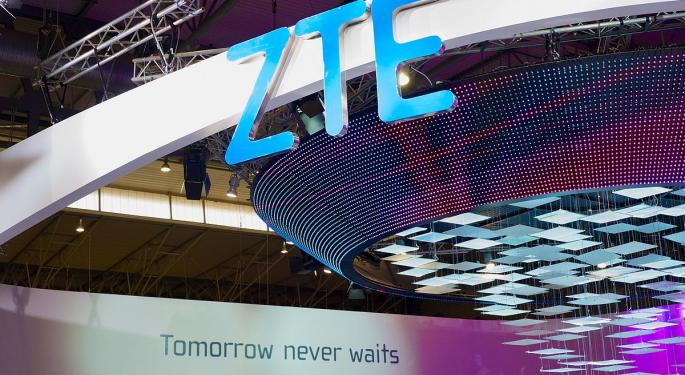 ZTE Reportedly Reaches Deal With US; Optical Stocks Mixed