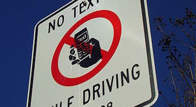 Texting While Driving: Bad, Texting While Flying: OK?