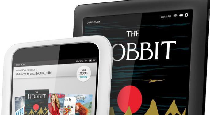 Barnes & Noble Unveils $199 Nook HD, $269 Nook HD+