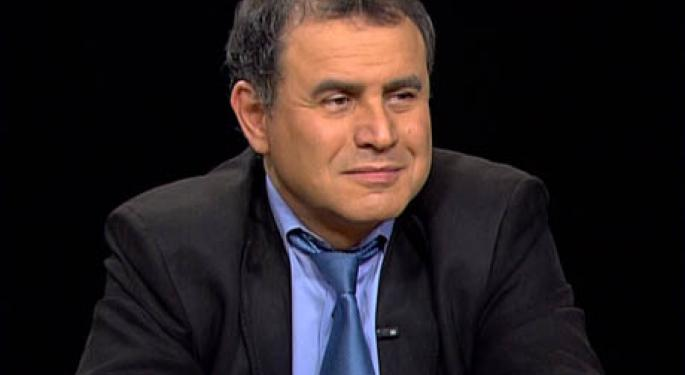 "Nouriel Roubini: ""We Are Going To See A Trainwreck If U.S. Doesn't Adress Fiscal Problem"""