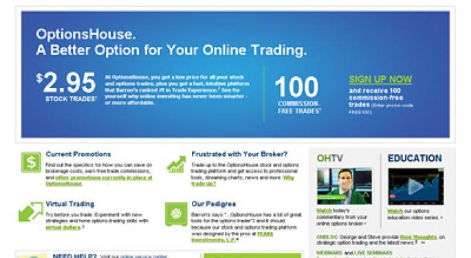 Optionshouse premarket trading