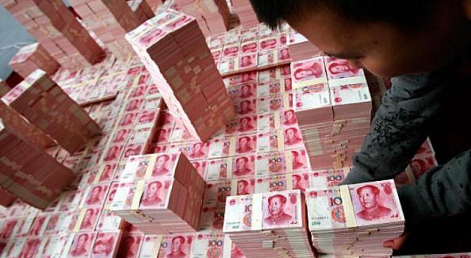 China Injects Cash in Bid to Improve Liquidity