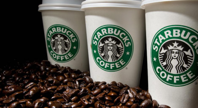 Starbucks Enters Green Mountain's Single-Serve Coffee Market