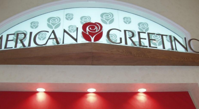 American Greetings Sharply Higher on Privatization Proposal